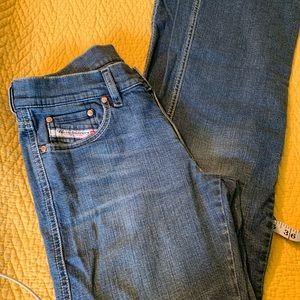 Diesel stretch jeans 29 waist straight leg 29x30